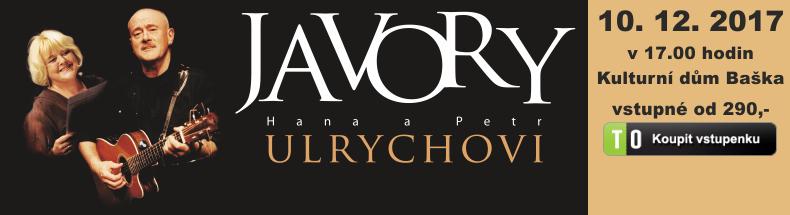 JAVORY Hana a Petr Ulrychovi - koncert