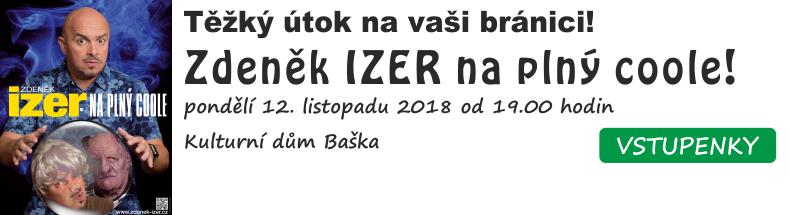 Zdeněk Izer na plný coole!