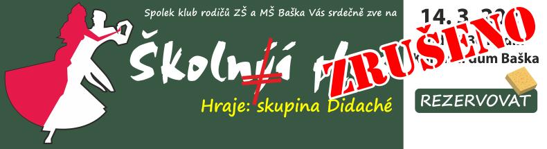 Školní ples ZŠ Baška