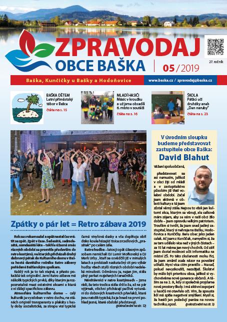 Zpravodaj obce Baška - Květen 2019