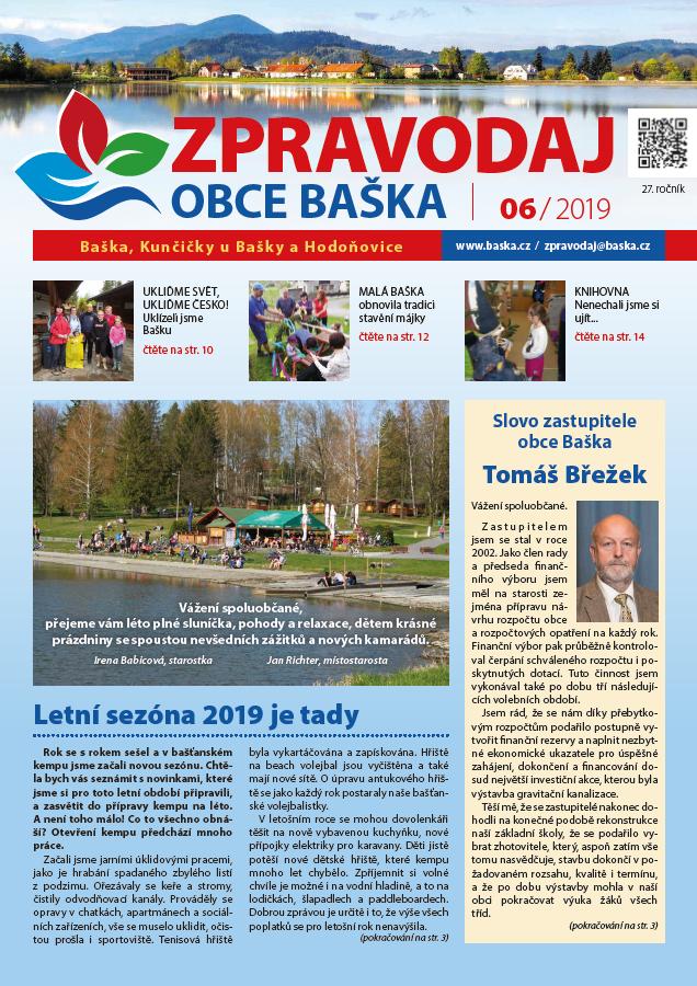 Zpravodaj obce Baška - Červen 2019