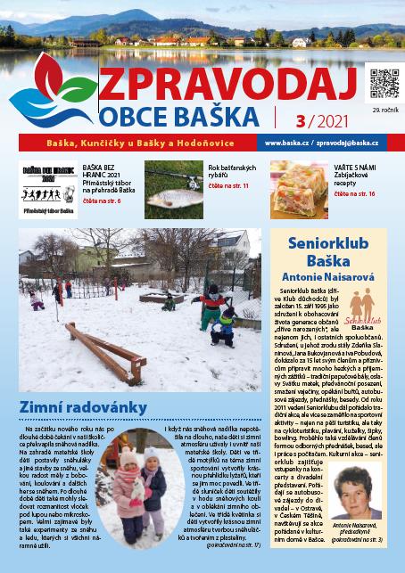 Zpravodaj obce Baška - březen 2021